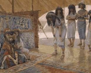 Sarai Is Taken to Pharaoh's Palace — Джеймс Тиссо