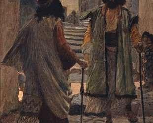 Saul meets with Samuel — Джеймс Тиссо