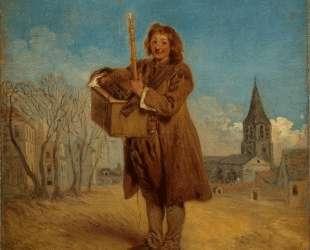 Savoyard with a marmot — Антуан Ватто