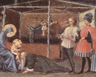Сцена поклонения трех царей — Паоло Уччелло