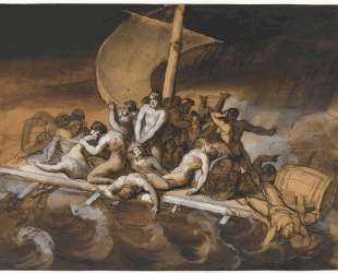 Scene of Cannibalism for The Raft of the Medusa — Теодор Жерико