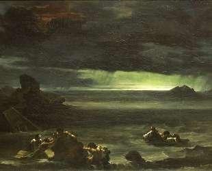 Scene of the Deluge — Теодор Жерико