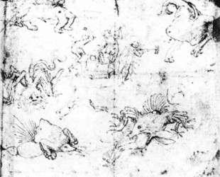 Сцены в Аду — Иероним Босх