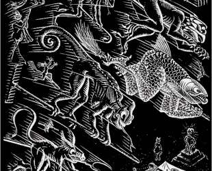 Scholastica Illustration — Мауриц Корнелис Эшер