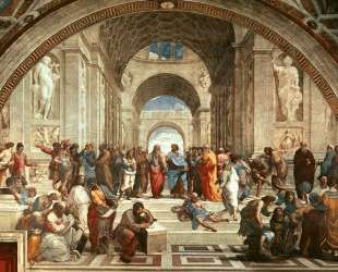 The School of Athens — Рафаэль Санти