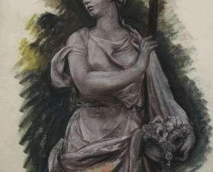 Скульптура в Тюильри — Зинаида Серебрякова