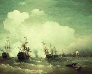 Морское сражение при Ревеле — Иван Айвазовский