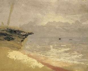 Море. Серый день — Архип Куинджи