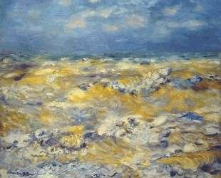 Seascape near berneval — Пьер Огюст Ренуар
