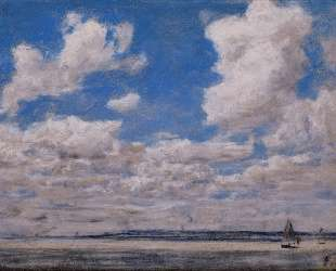 Seascape with Large Sky — Эжен Буден