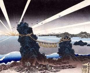 Seascape — Утагава Кунисада