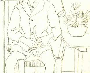 Seated boy — Рафаэль Забалета