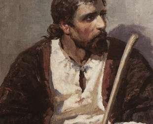 Сидящий Христос — Василий Поленов