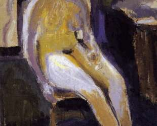 Seated Female Nude — Рихард Герстль