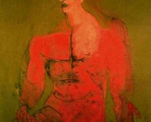 Seated figure (male classical) — Виллем де Кунинг