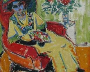 Seated Lady (Dodo) — Эрнст Людвиг Кирхнер