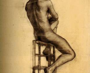 Seated Male Nude Seen from the Back — Винсент Ван Гог