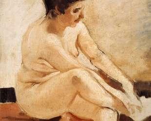 Seated Nude — Хоакин Соролья