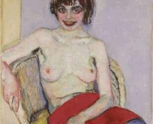 Seated Nude — Ян Слёйтерс