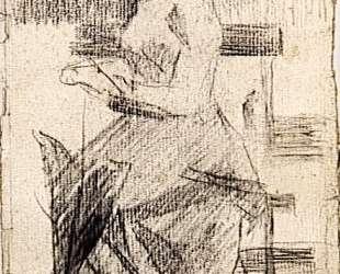 Сидящая женщина — Жорж Сёра