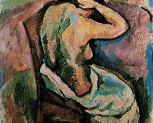 Сидящая женщина — Жорж Брак