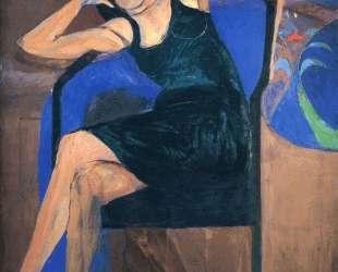 Seated Woman — Ричард Дибенкорн