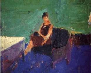 Seated Woman Green Interior — Ричард Дибенкорн