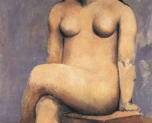 Seated woman with her legs crossed — Пабло Пикассо