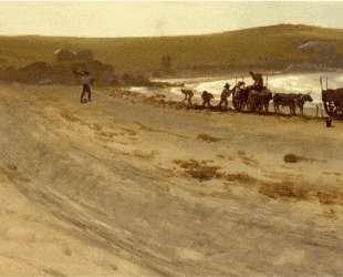 Seaweed Harvesting — Альберт Бирштадт
