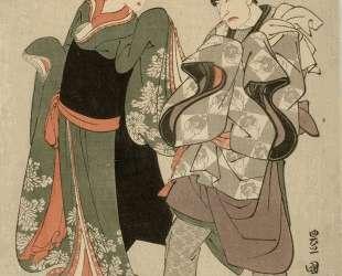 Segawa Kikunojo III and Bando Mitsugoro II — Утагава Тоёкуни