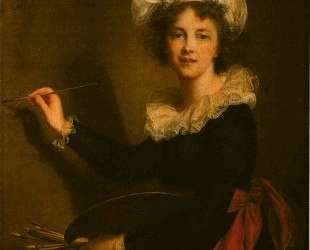 Self-portrait — Элизабет Луиза Виже-Лебрен