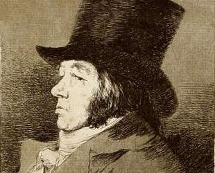 Self Portrait — Франсиско де Гойя