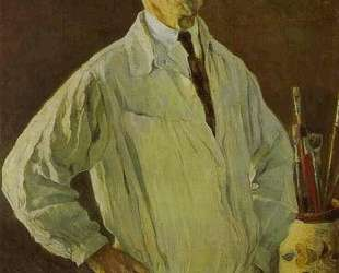 Self-Portrait — Михаил Нестеров