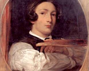 Self portrait as a boy — Фредерик Лейтон