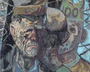 Self-Portrait as a prisoner of war — Отто Дикс
