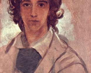 Self-Portrait as a Young Man — Джордж Фредерик Уоттс