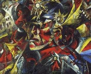 Self-Portrait as Mars — Отто Дикс