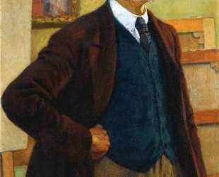 Self Portrait in a Green Waistcoat — Тео ван Рейссельберге