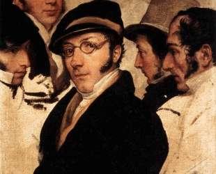 Self Portrait in a Group of Friends — Франческо Хайес