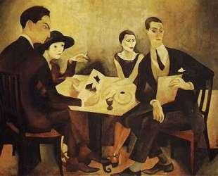Self-portrait in a group — Хосе де Альмада Негрейрос