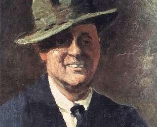 Автопортрет в Шляпе — Поль Гоген