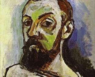 Self-Portrait in a Striped T-Shirt — Анри Матисс