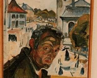 Автопортрет в Бергене — Эдвард Мунк