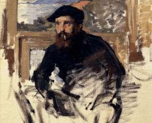 Автопортрет в студии — Клод Моне