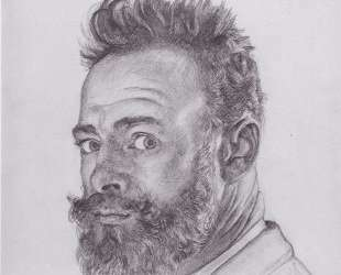 Self-portrait in Paris — Фердинанд Ходлер