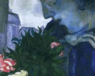 Автопортрет в профиль — Марк Шагал