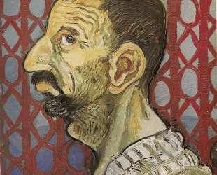 Self-Portrait in profile — Антонио Лигабуэ