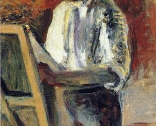 Self-Portrait in Shirtsleeves — Анри Матисс