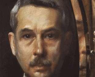 Автопортрет в зеркале — Константин Сомов