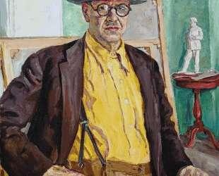 Автопортрет (в желтой рубашке) — Пётр Кончаловский
